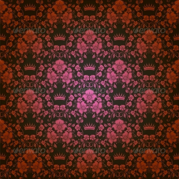 GraphicRiver Damask Seamless Floral Pattern 4506458