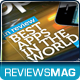 Tech Reviews Magazine Template - GraphicRiver Item for Sale