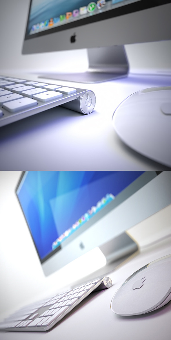 3DOcean iMAC 2013 3D Model 4507157