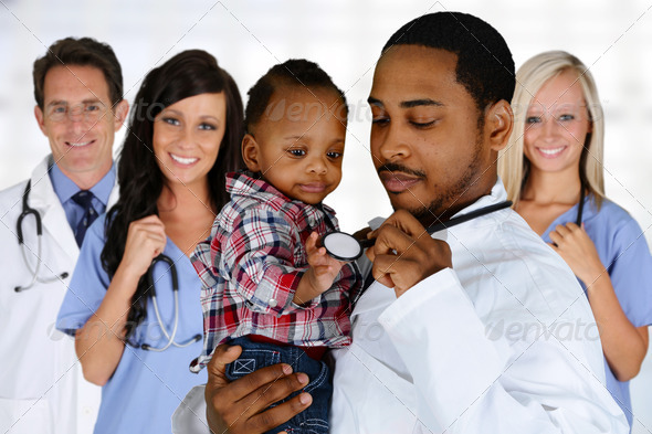 Doctors and Nurse - Stock Photo - Images