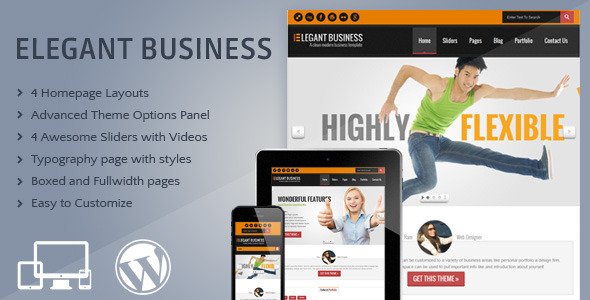 ThemeForest Elegant Responsive Business Portfolio Theme 4507455