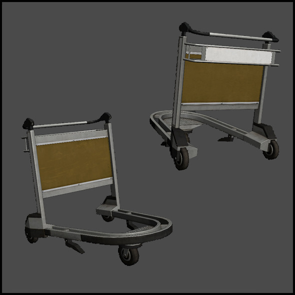 Trolley - 3DOcean Item for Sale
