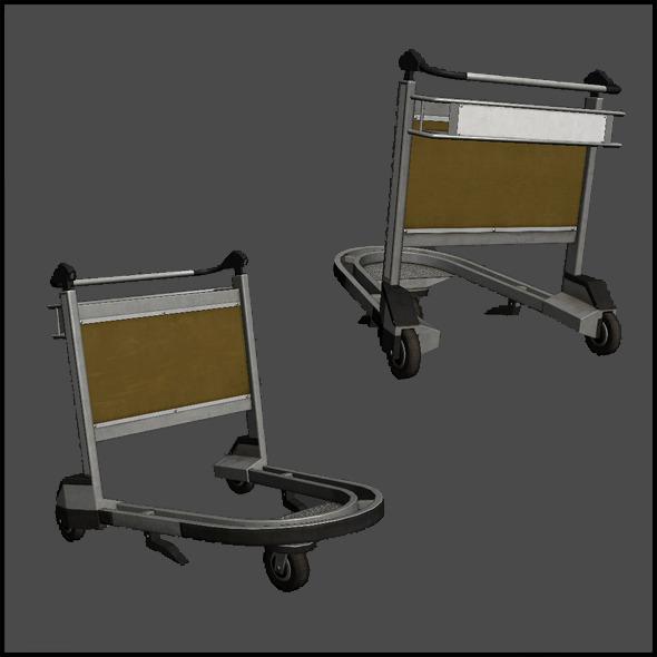 3DOcean Trolley 4508155