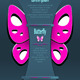 Modern Background with Decorate Butterfly - GraphicRiver Item for Sale