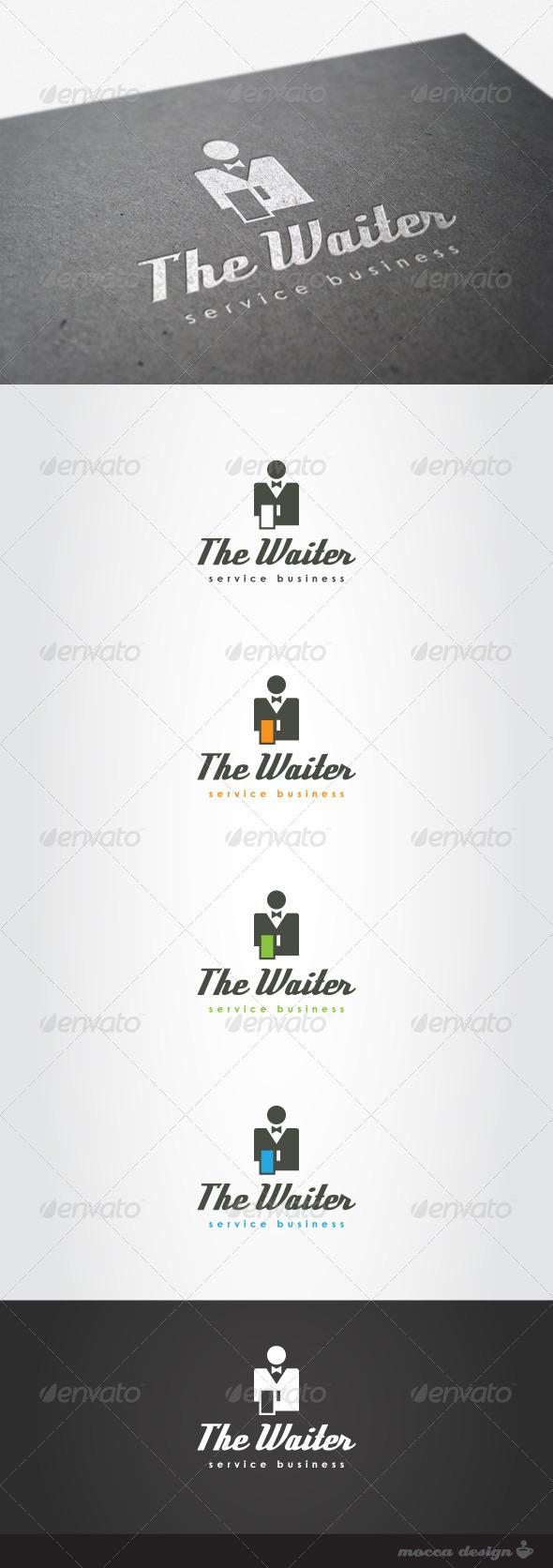 GraphicRiver The Waiter Logo 4508621
