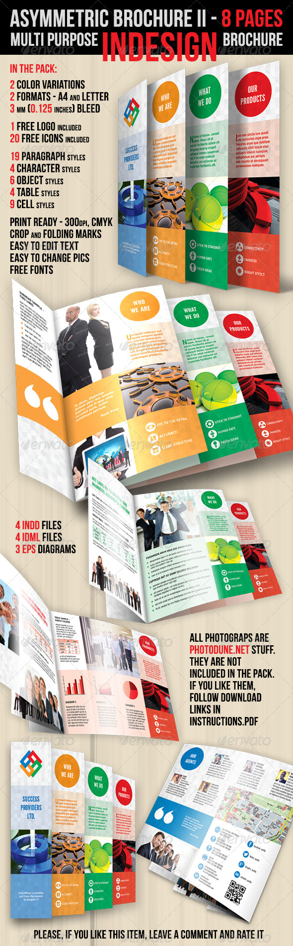 GraphicRiver Asymmetric Brochure II 4508654