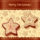 Christmas Chocolate Honey-Cakes Greetings Card - GraphicRiver Item for Sale