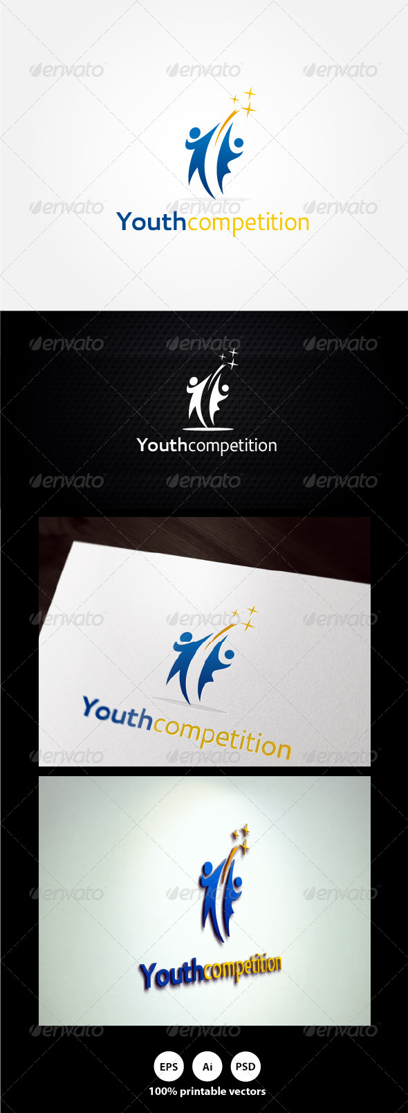 GraphicRiver Youth Competition Logo 4508917