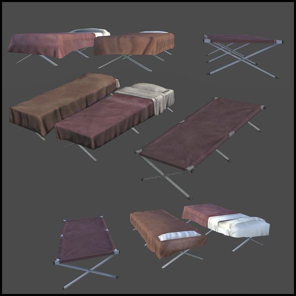Cots - 3DOcean Item for Sale
