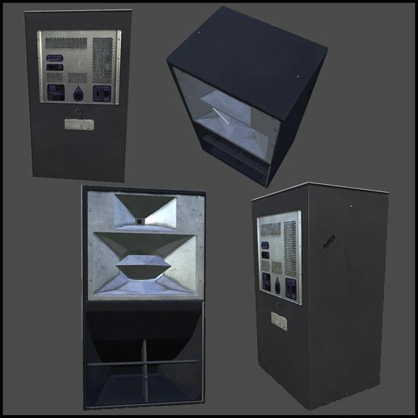 Large Speaker - 3DOcean Item for Sale