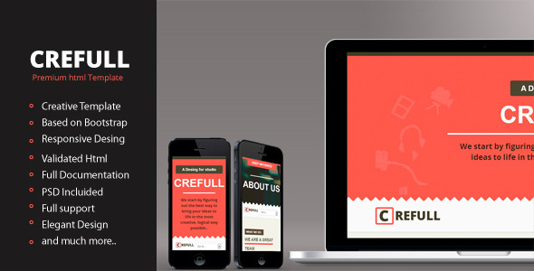 Crefull - Responsive HTML5 Template