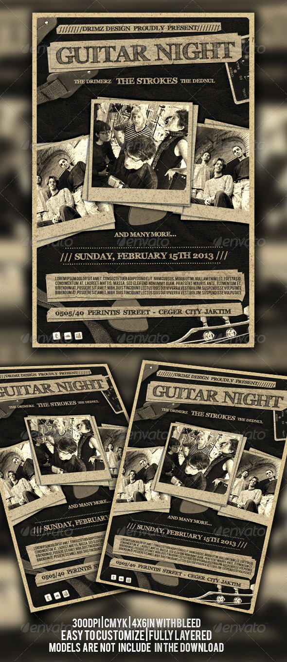 GraphicRiver Indie Flyer 4509119