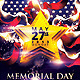 Memorial Day Weekend Party Flyer Template - GraphicRiver Item for Sale