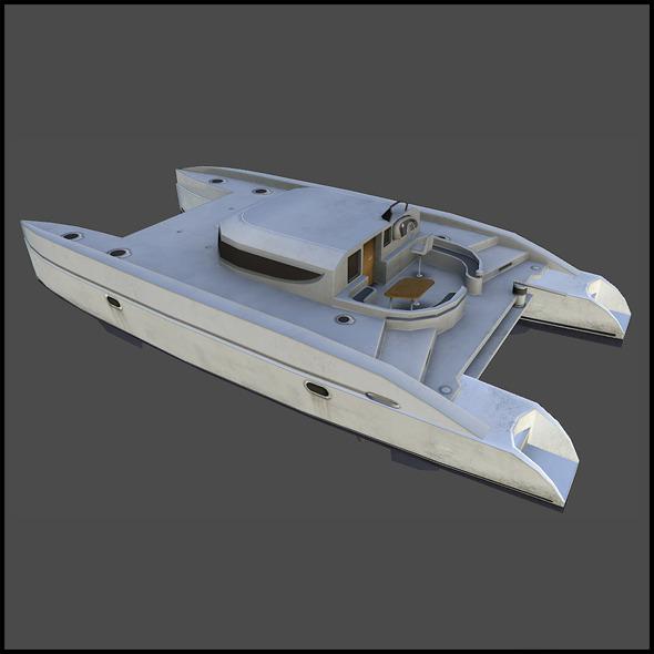 3DOcean Catamaran 4509385