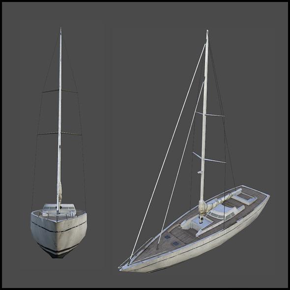 3DOcean Sail Yacht 4509439