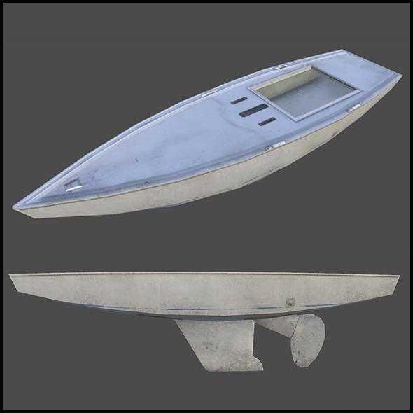 3DOcean Starboat 4509448