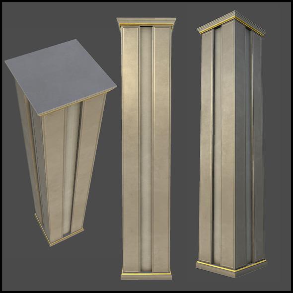 3DOcean Lobby Classic Column 4509492