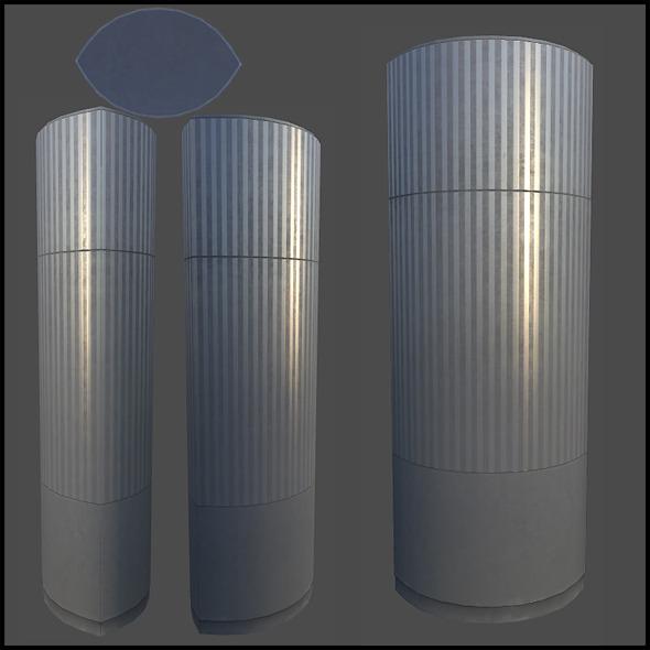 3DOcean Chrome Column 4509522
