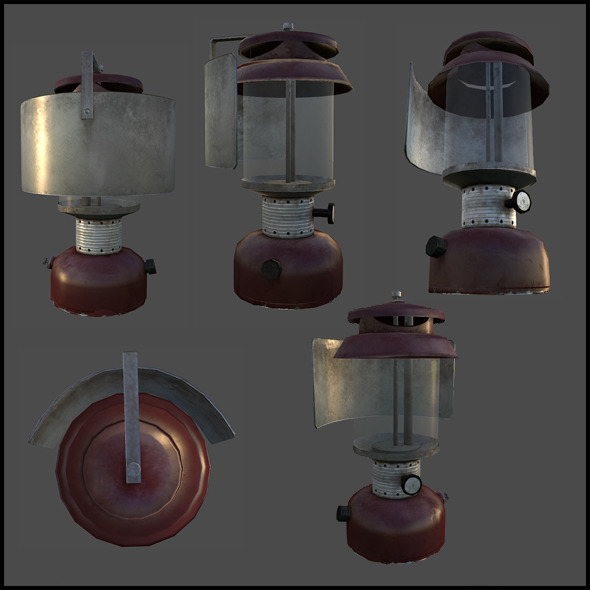 Kerosene Lantern - 3DOcean Item for Sale