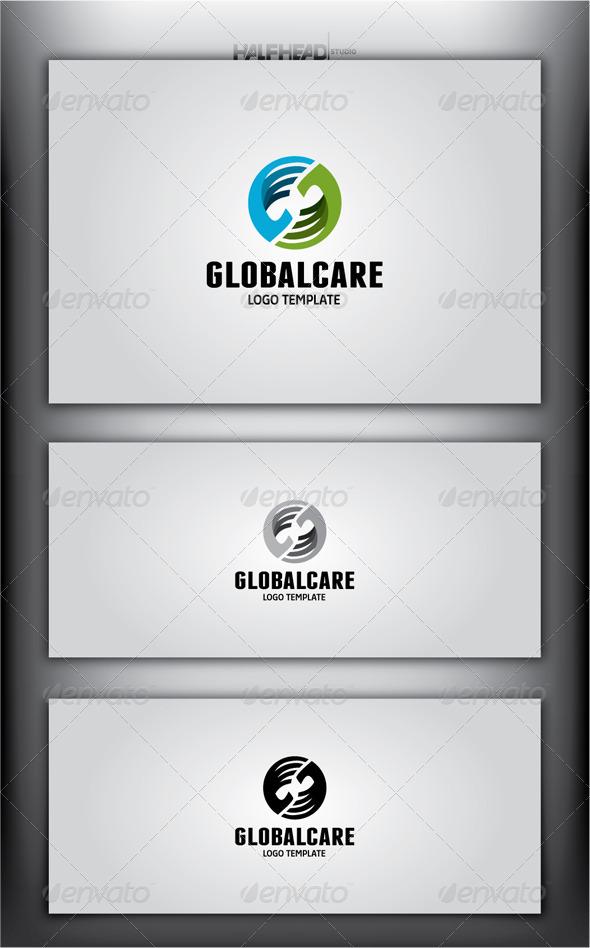 GraphicRiver GlobalCare Logo Template 4509747