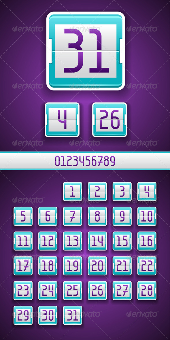 GraphicRiver Numbered Scoreboard App Icon 4511302