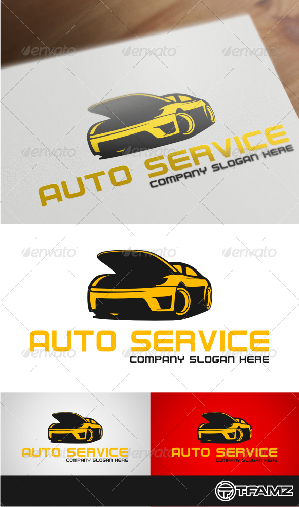 GraphicRiver auto service 4416421