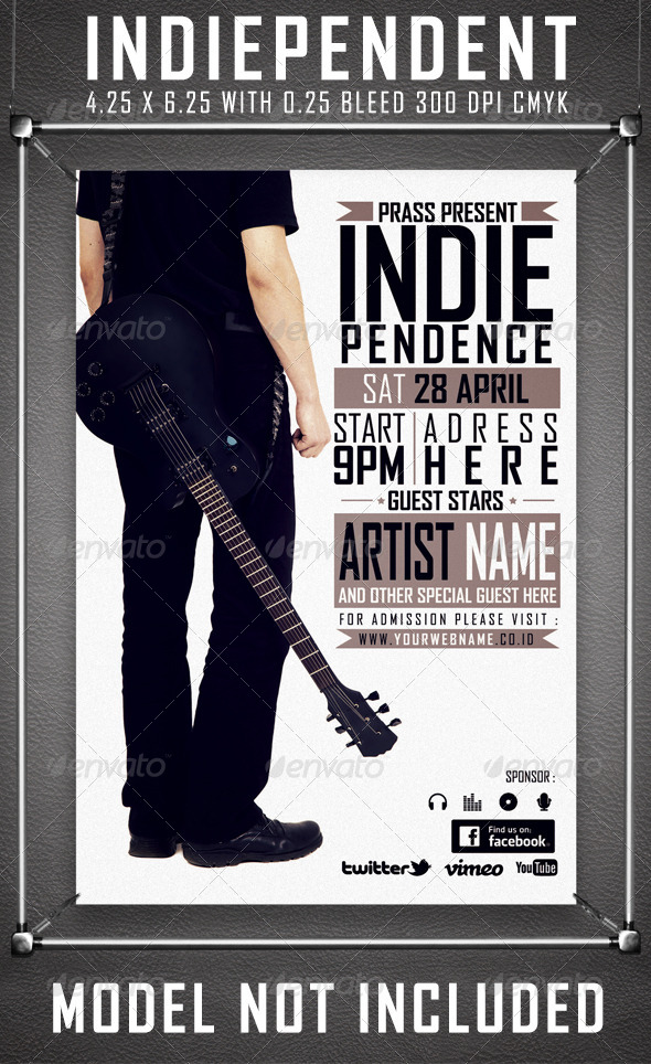GraphicRiver Indiependent Music Fest 3836932