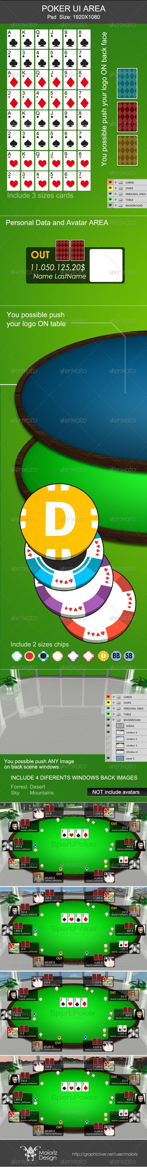GraphicRiver Poker Ui Area 4441375