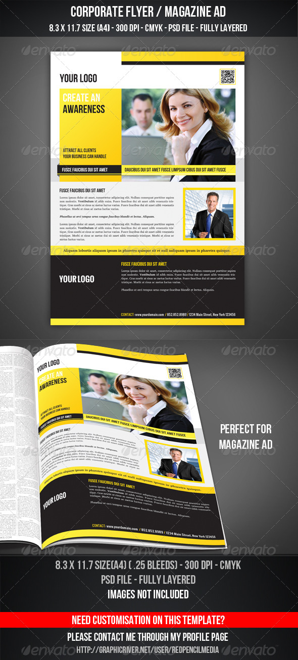 GraphicRiver Corporate Flyer Magazine AD 4426927