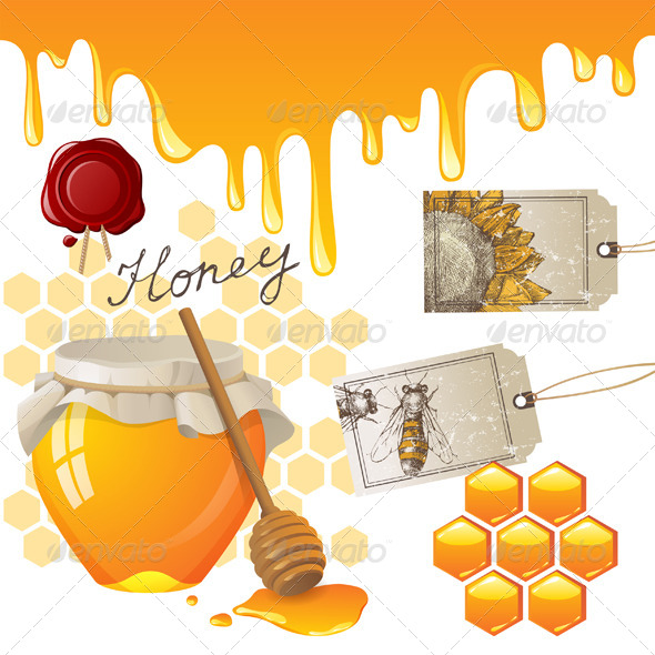 GraphicRiver Honey 4512525