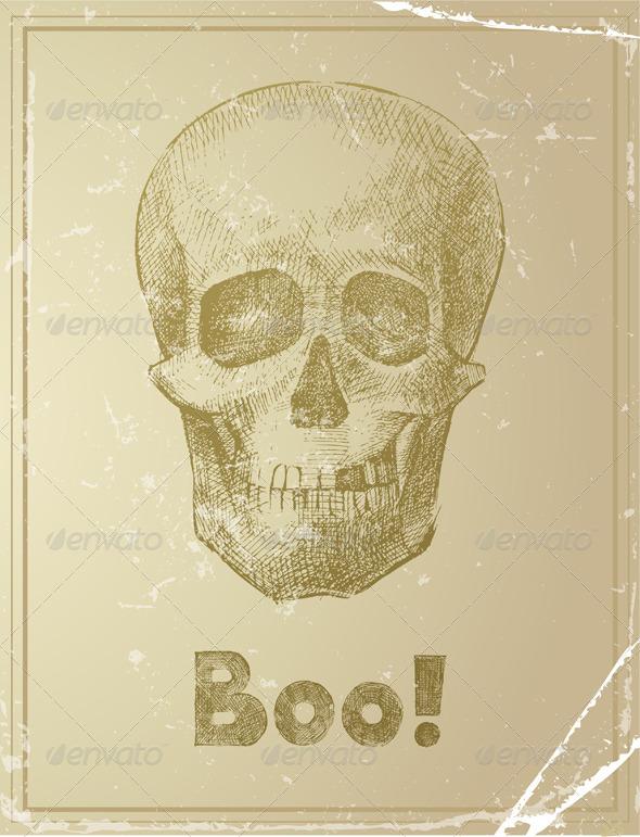 GraphicRiver Skull 4512583