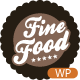 Fine Food - Restaurant Sensibilă WordPress Tema - WorldWideThemes.net Punctul de vânzare