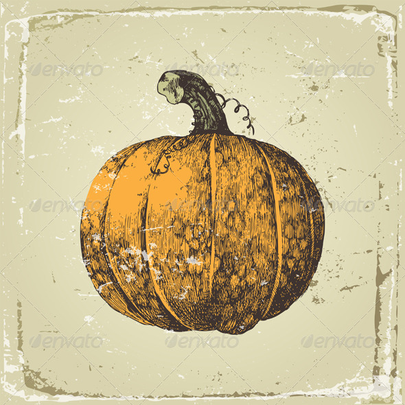 GraphicRiver Pumpkin 4513093