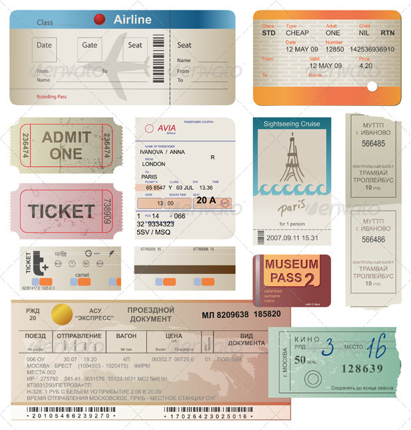GraphicRiver Tickets 4513208