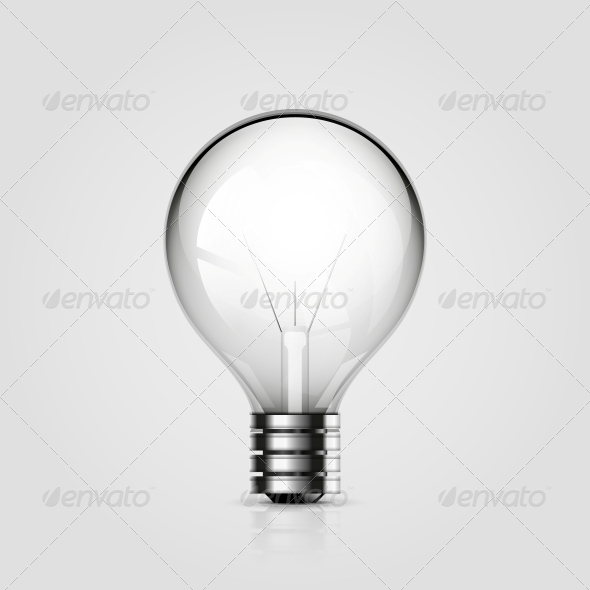 GraphicRiver Vector Light Bulb Icon 4513326