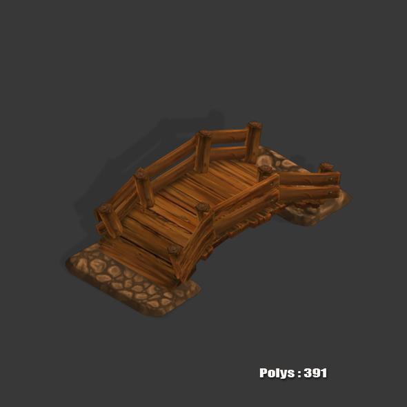 Bright Low Poly - 3DOcean Item for Sale