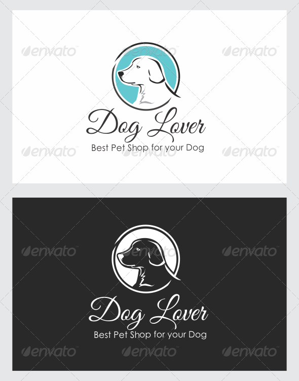 GraphicRiver DOG LOVER LOGO TEMPLATE 4435771
