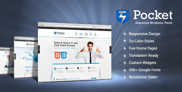 ThemeForest Pocket Responsive Wordpress Theme 4503257