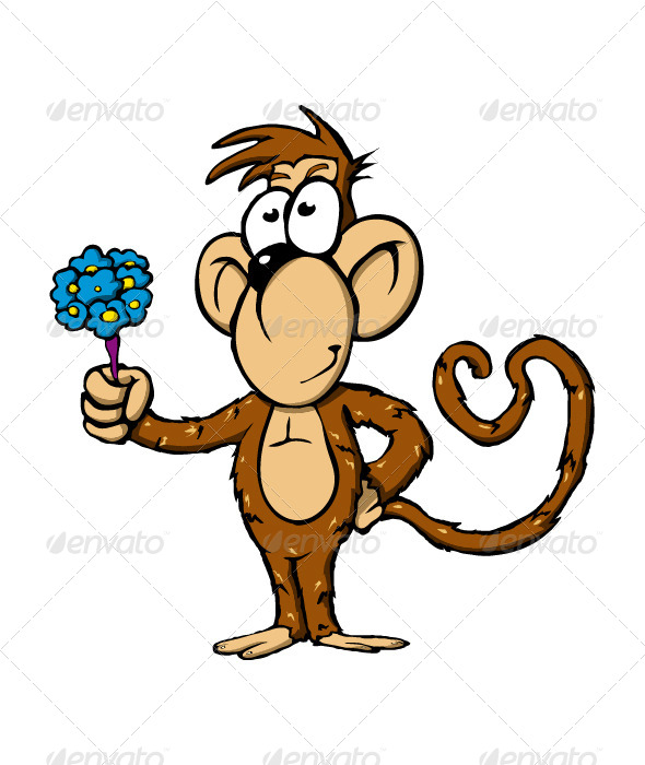 GraphicRiver Monkey 4514374