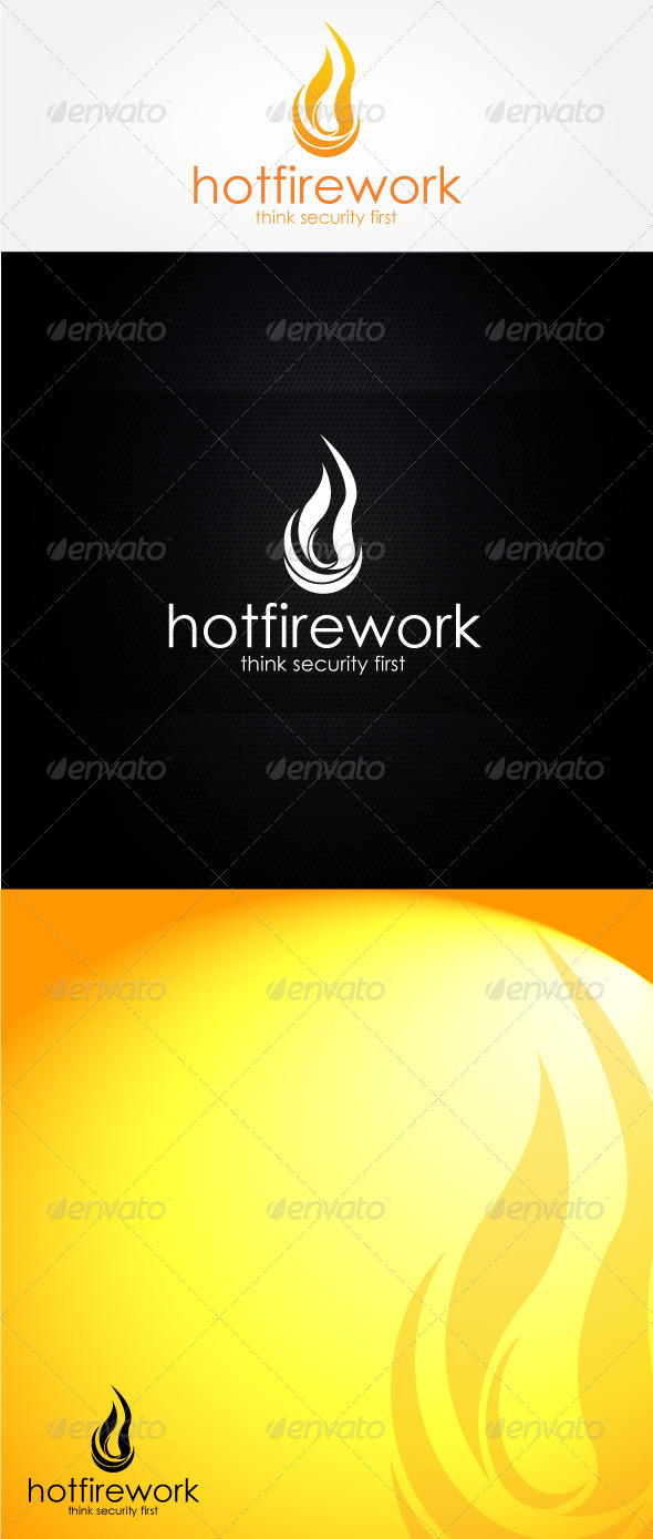 GraphicRiver Hot Firework Logo Template 4470996