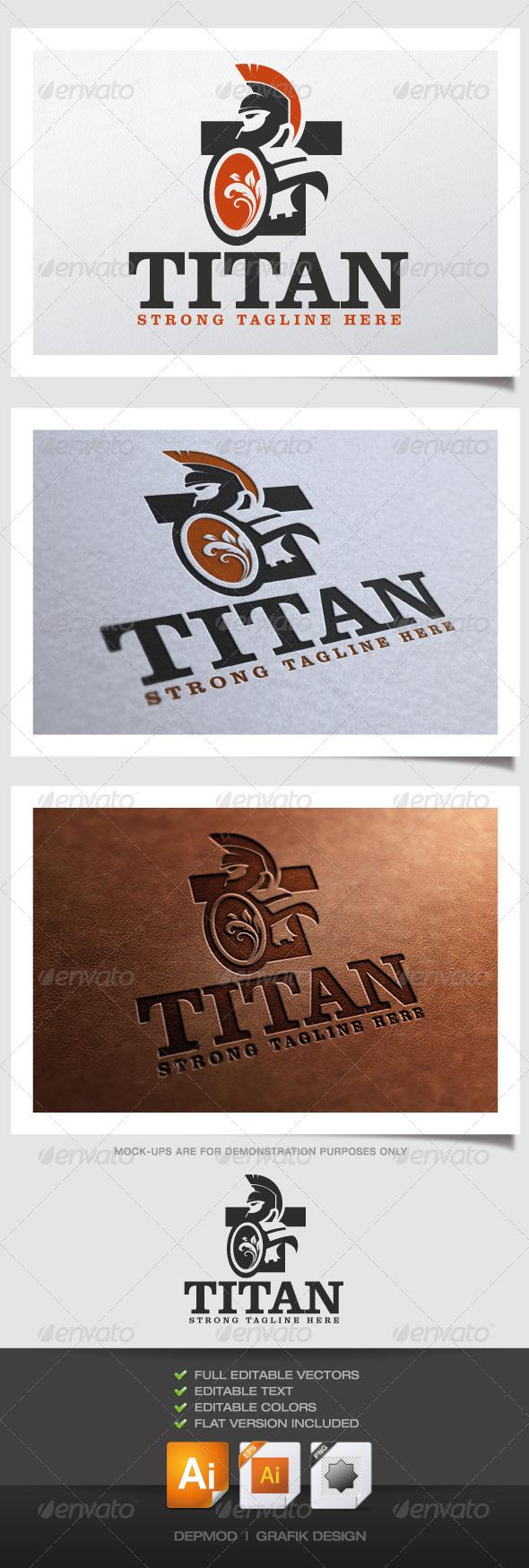 GraphicRiver Titan Logo 4514606