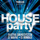 A4 House Party Club Flyer 4 in 1 - GraphicRiver Item for Sale