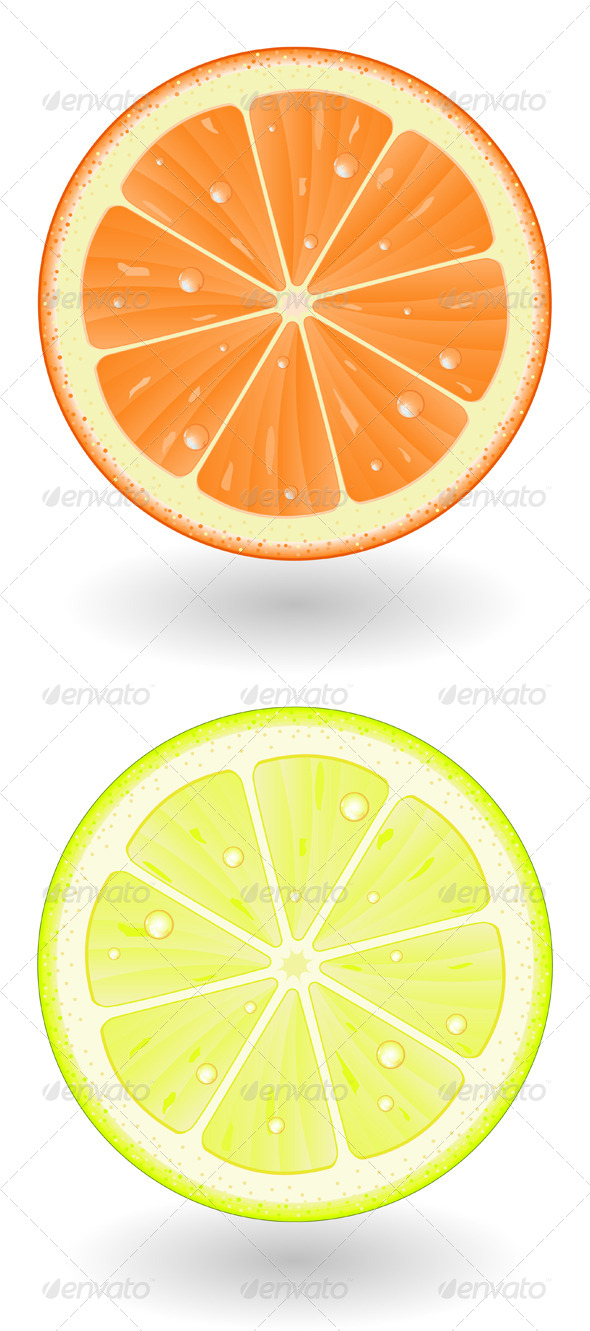Orange & Lemon Cut