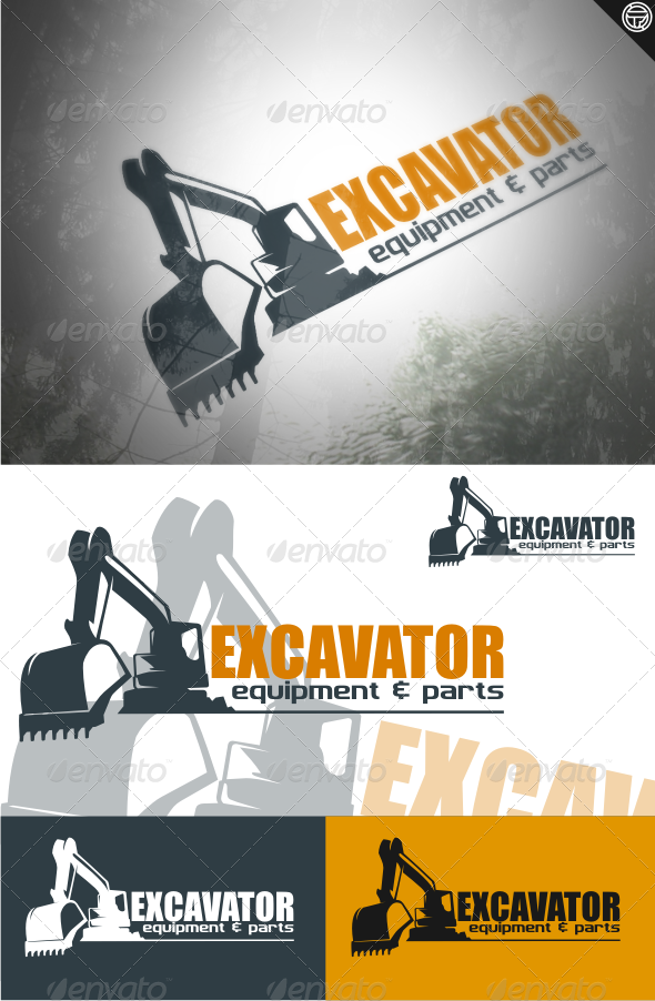 GraphicRiver excavator 4515010