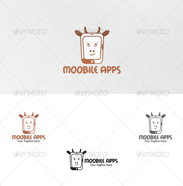 Mooblie Apps Logo Template