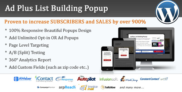 CodeCanyon Ad Plus List Building Popup 4515145