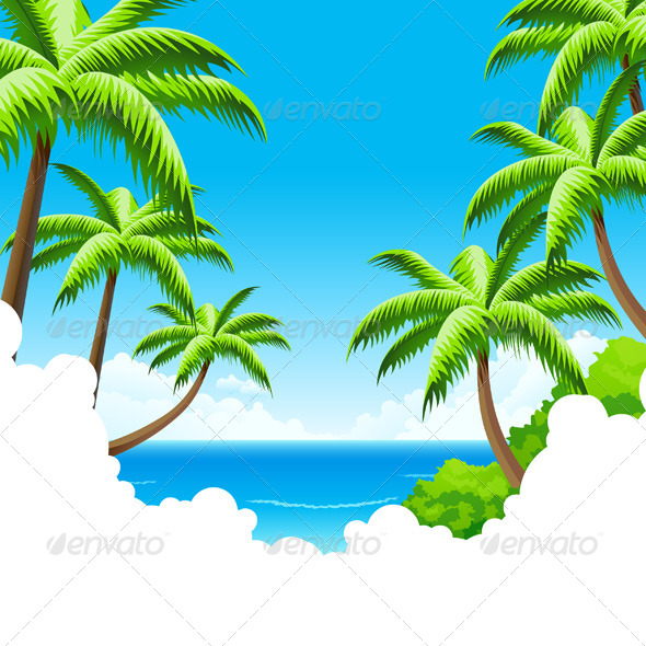 GraphicRiver Summer Vacation Background 4515852