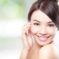 Beautiful woman smile face with clean face skin - PhotoDune Item for Sale