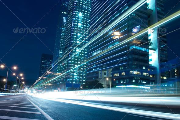 City Night - Stock Photo - Images