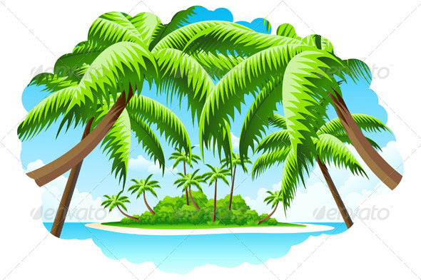 GraphicRiver Summer Vacation Background 4516390